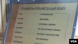 Standar gaji perawat di luar Indonesia. (VOA/R. Teja Wulan)