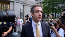 အျပစ္၀န္ခံခဲ့တဲ့ ေရွ႕ေနေဟာင္း Cohen ကို Trump ရွဳံ႕ခ်