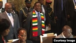 VaEmmerson Mnangagwa naVaMokgweetsi Masisi