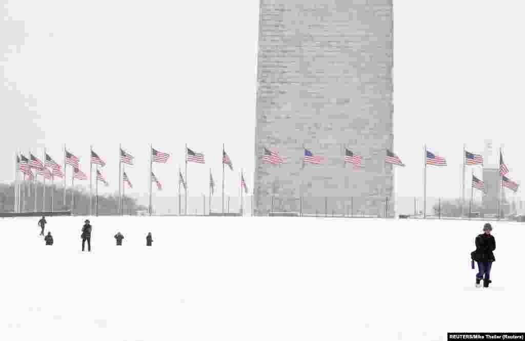 Меморіал Вашингтона. 13 січня 2019 року