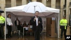 哥伦比亚总统桑托斯