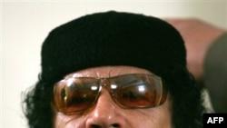 Ливийский лидер Муаммар Каддафи (архивное фото)