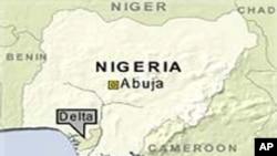Bản đồ của Nigeria.