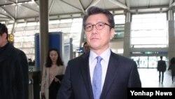 한국측 북핵 6자회담 수석대표인 김홍균 외교부 한반도평화교섭본부장. (자료사진)