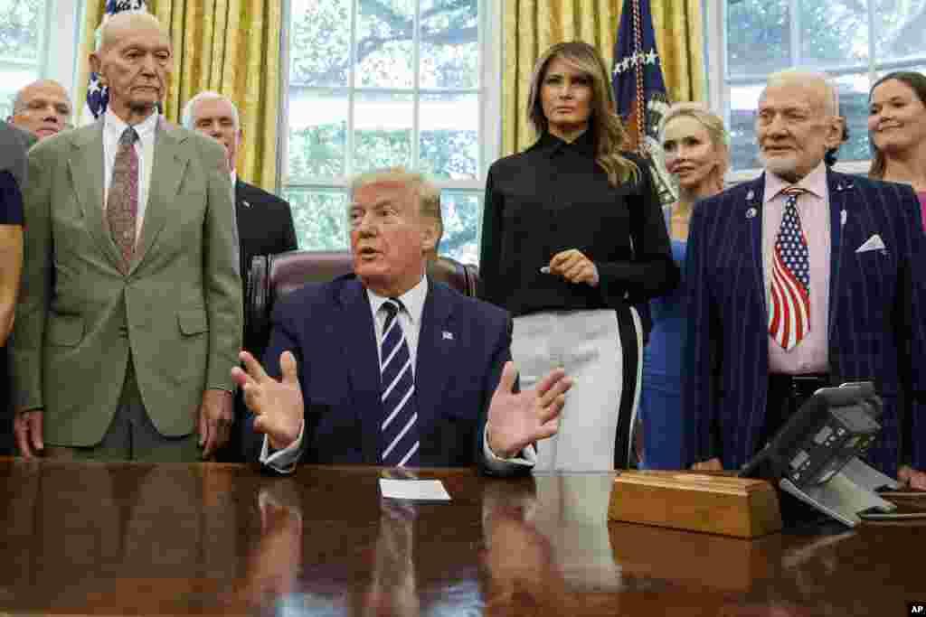 بعد از ادعاهای مقامهای ایران و تردید درباره سرنگونی پهپاد جمهوری اسلامی، روز جمعه، رئیس جمهوری ایالات متحده بار دیگر اعلام کرد از سرنگونی پهپاد ایران مطمئن است.