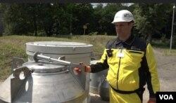 Контейнери для перевезення радіоактивних відходів