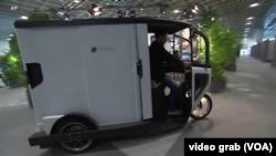 Dostavno vozilo na pedale čiji promoteri kažu da ne emituje štetne gasove