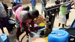 Boreholes and Water Situation Zimbabwe No Water