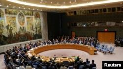 联合国安理会2018年4月14日召开叙利亚问题紧急会议(路透社)