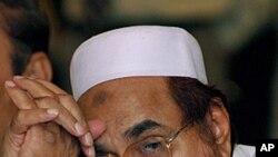 ນາຍ Hafiz Mohammad Saeed, ຜູ້ຕ້ອງສົງໄສ ທໍການໂຈມຕີທີ່ນະຄອນ ມູມໄບ ,ອິນເດຍ ວັນທີ 3 ເມສາ 2012.