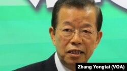 民进党前主席谢长廷 (资料图片)