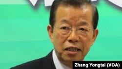 民进党前主席谢长廷 (2012年资料照片)