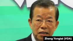 台灣前民進黨主席謝長廷(資料照片)