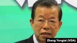 台灣民進黨前主席謝長廷(資料圖片)