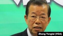民進黨前主席 謝長廷