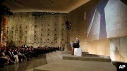 پرزیدنت اوباما موزه ۱۱ سپتامبر را افتتاح کرد