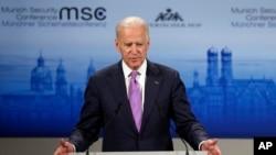 Le vice-président américain, Joe Biden, Munich, 7 février 2015
