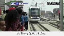 Ethiopia khai trương tàu điện ngầm đầu tiên do TQ thi công (VOA60)