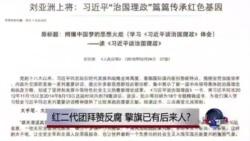 时事大家谈:红二代团拜赞反腐,擎旗已有后来人?