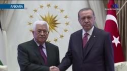 Erdoğan Abbas'la Görüştü