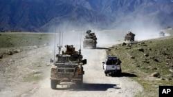 AQSh kuchlari Afg'oniston zaminida. Jalolobod viloyati, aprel, 2014.