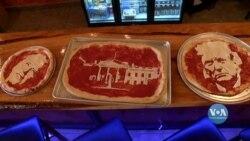 У День виборів піцерія у штаті Алабама готувала особливу, патріотичну піцу. Відео