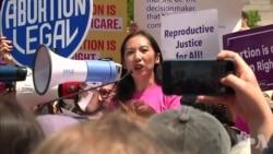 支持堕胎人士在全美示威