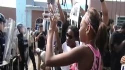 美國警察槍殺黑人青年事件繼續引發騷亂