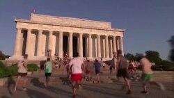 미국의 명소들 운동 장소로 인기
