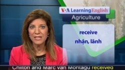 Anh ngữ đặc biệt: GMO's World Food Prize (VOA-Ag Report)