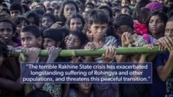 U.S. Takes Action over Rohingya Abuse