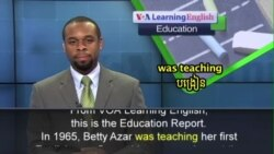 """Meet Betty Azar, the """"Rock Star"""" of English Grammar"""