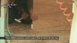 Carpentry Business Struggles to Resume in Mosul Months After IS Removal