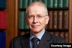 英国最高法院院长韦彦德 (英国最高法院官方网站照片)