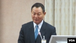 台灣國家安全局長李翔宙(美國之音張永泰拍攝)