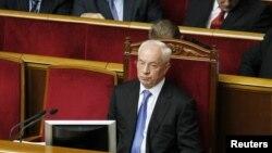 Николай Азаров на сессии Верховной Рады Украины