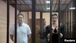 Максим Знак и Мария Колесникова