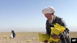 مواجه شدن بیشتر از سی درصد مردم افغانستان با کمبود موادغذایی