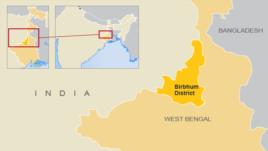 Vị trí quận Birbhum, Tây Bengal, Ấn Độ