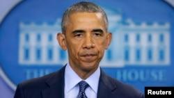 Prezida Barack Obama wa Reta Zunze Ubumwe Zunze za Amerika