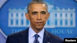 """""""Oremos por las víctimas y sus familias. Que Dios le les de la fortaleza para sobrellevar lo sucedido"""", dijo Obama."""