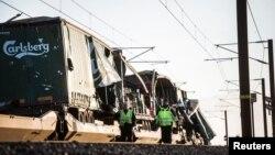 Un portavoz del grupo cervecero danés Carlsberg confirmó que el tren de carga involucrado en el accidente transportaba cajas de cerveza de su compañía.