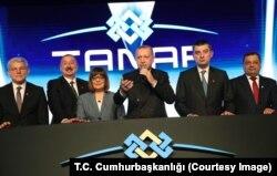 """Cumhurbaşkanı Erdoğan, Edirne'nin İpsala ilçesinde düzenlenen """"TANAP Avrupa Bağlantısı Açılış Töreni''ne katıldı."""