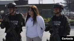 Dolly Cifuentes Villa también debe responder por delitos de narcotráfico en la ciudad de Nueva York. [Foto: Policía de Colombia]