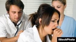 Ana duban mace mai fama da ciwon tarin asma