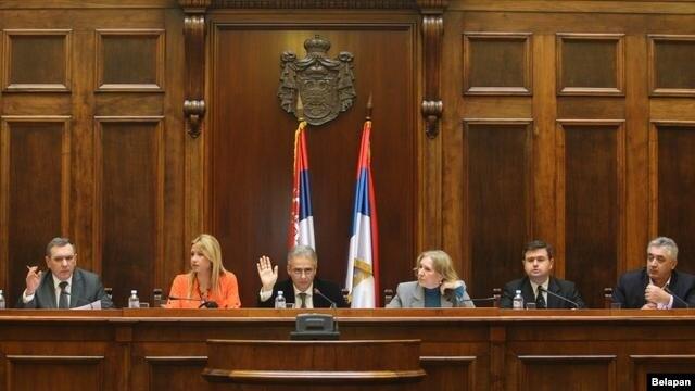 Sednica Odbora za Kosovo i Metohiju u Domu Narodne skupštine 11. januara 2013.
