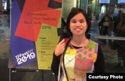 """Andrea Darmawan atau Dea, Pemeran utama film """"How Far I'll Go"""" (foto: courtesy)."""