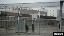 중국정부의국외도피부패사범양슈주전저장성원저우부시장이16일미국으로부터송환됐다. 양슈주가 수감되어 있던 미국 뉴저지의 허드슨 카운티 교도소.