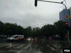 Kišno vrijeme u Banja Luci, 13. maj 2019.