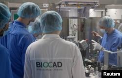Лабораторія компанії BIOCAD у Санкт-Петербурзі, 20 травня, 2020 (REUTERS/Anton Vaganov)